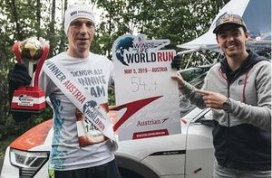 Zawodnik OKNOPLAST Running Team wygrał Wings for Life World Run w Wiedniu