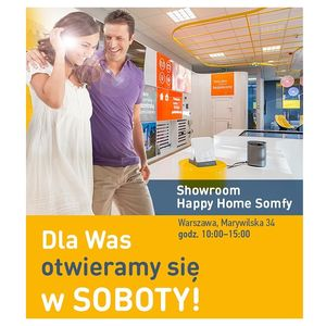 Sobota w Happy Home Somfy